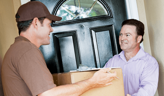 Analytics enabling smarter home delivery card