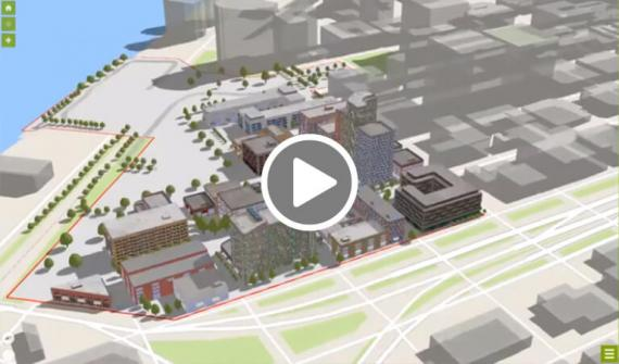 Facilities mapping in 3D