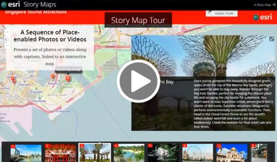 Maps bring stories to life